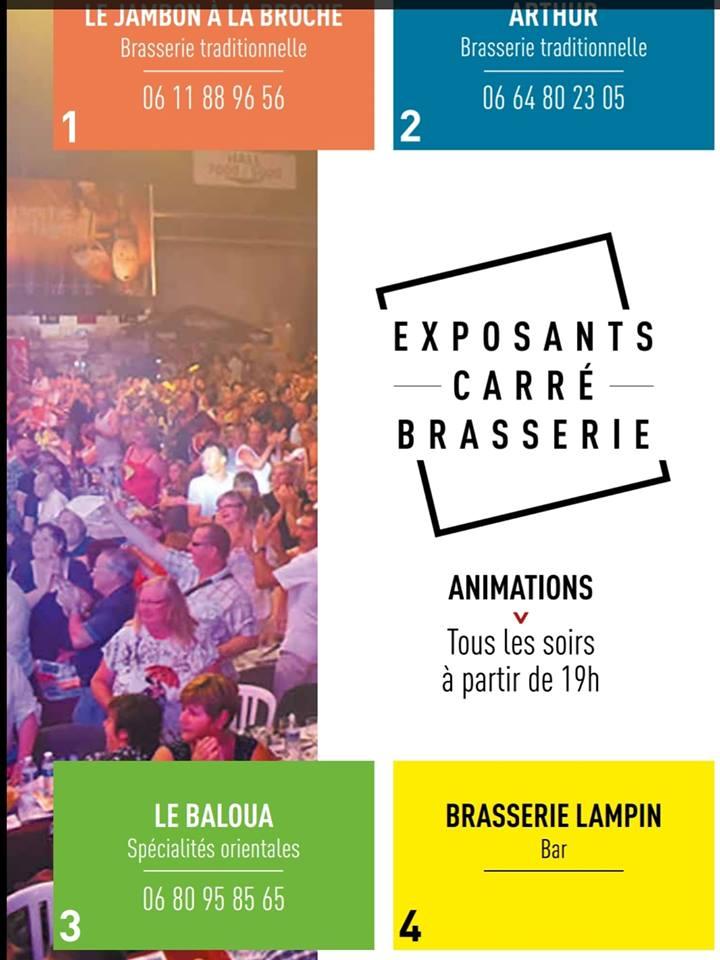 carré brasserie Foire expo Gayant 1