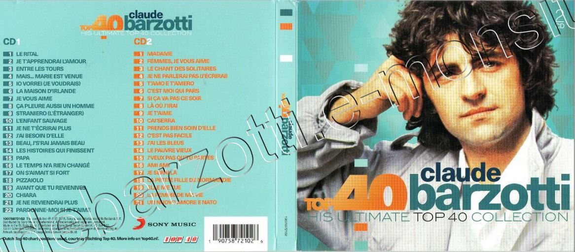 cd top40 sony NL 03 prot