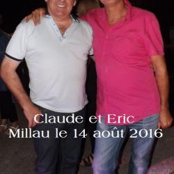 Claude et Eric Millau