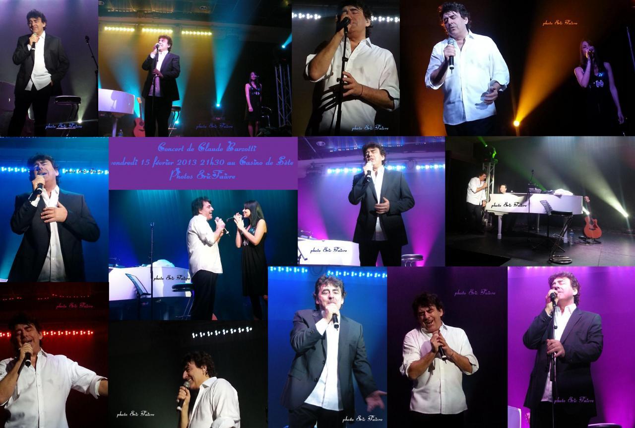 concert Sète le 15  février 2013