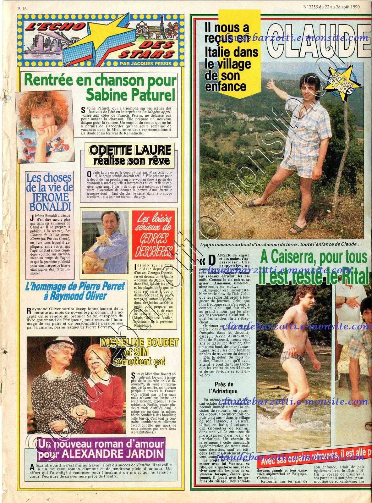 ici paris 2355 du 22 aout 1990 page 16