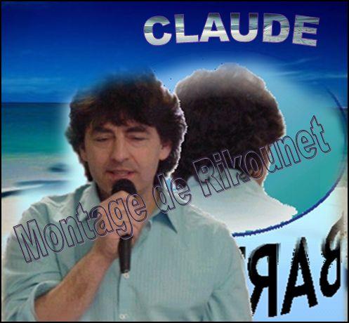 Claude Barzottti montage avec photo Méounes