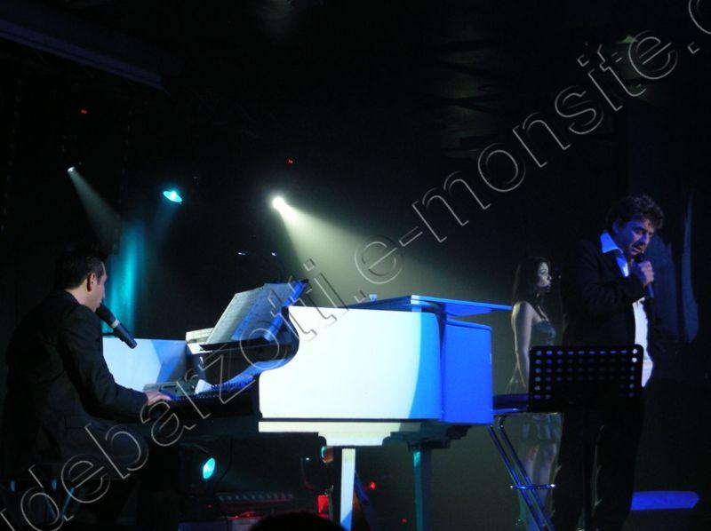 Claude Barzotti au concert du GRAU du ROI le 5 octobre 2012