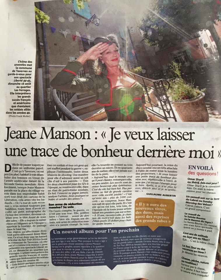 presse Tavernes Jeane Manson