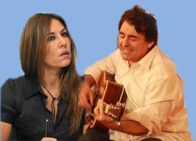 Mathilde Seigner et Claude Barzotti