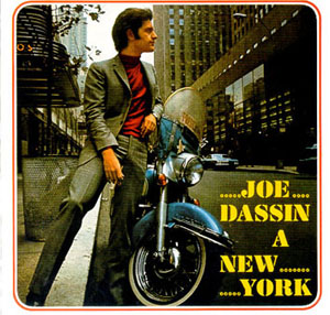 "33T CBS LP 62823 ""Joe Dassin à New-York"" novembre 1966"