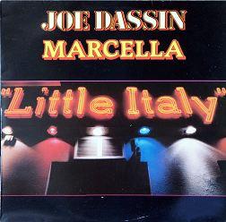 """33T CBS LP 85806 """"Little Italy"""" édité après la mort de Joe Dassin de 1982"""