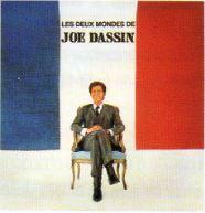 """33T CBS LP 63194 """"Les deux mondes de Joe Dassin"""" de 1967"""
