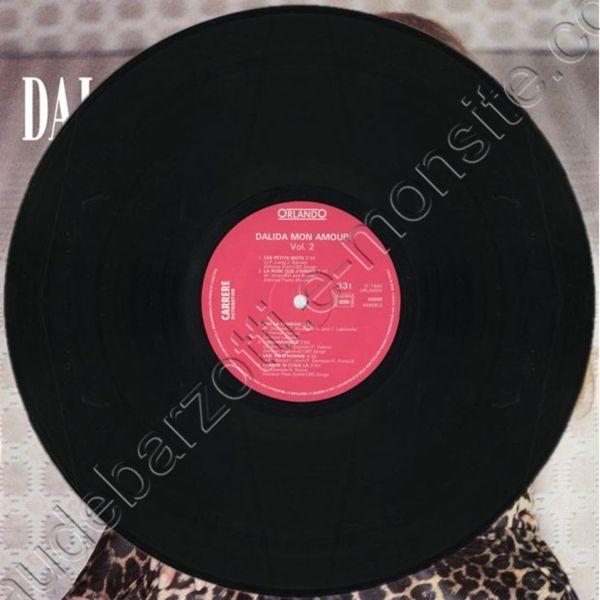"double 33T Dalida ""Mon amour"""