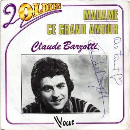 45 t Madame / Ce grand amour