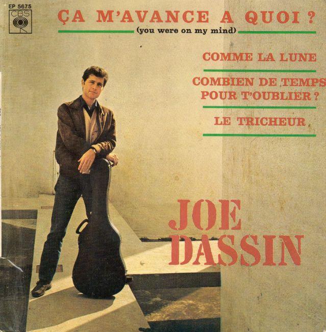 45t EP 5675 Joe Dassin