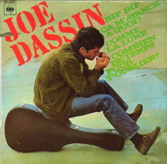 45t EP 6297 Joe Dassin