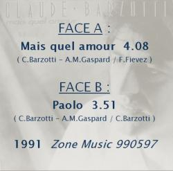 Mais quel amour / Paolo