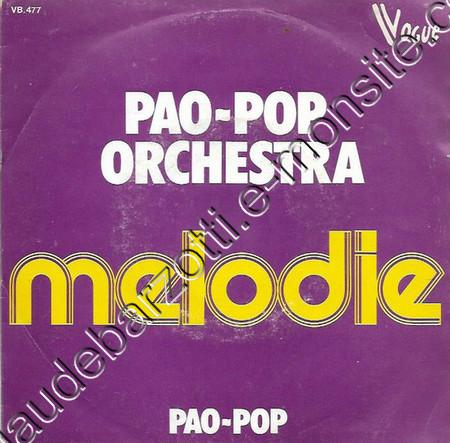 45t PAO-POP ORCHESTRA