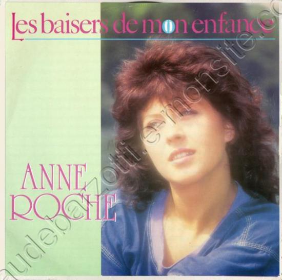 """45t Anne roche """"les baisers de mon enfance / instrumental"""""""
