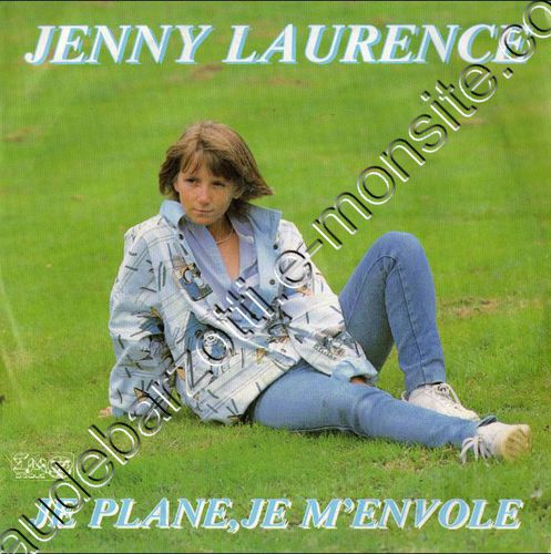 45 Tours Jenny Laurence Je plane je m'envole