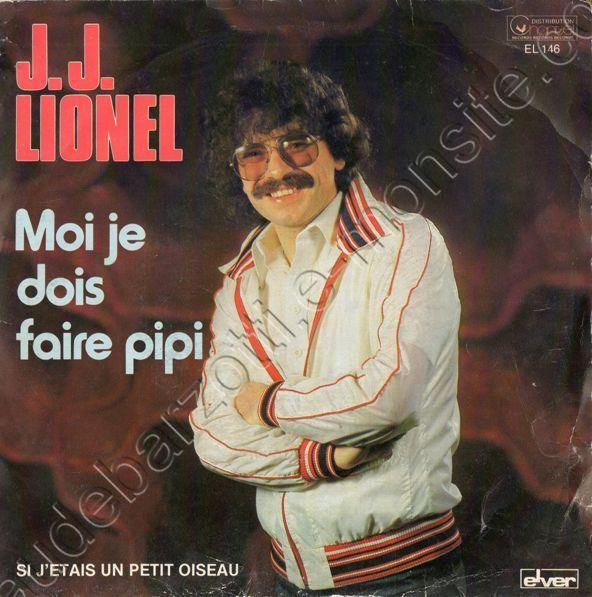 """45 T """"Moi je dois faire pipi"""" face A chanté par JJ Lionel"""