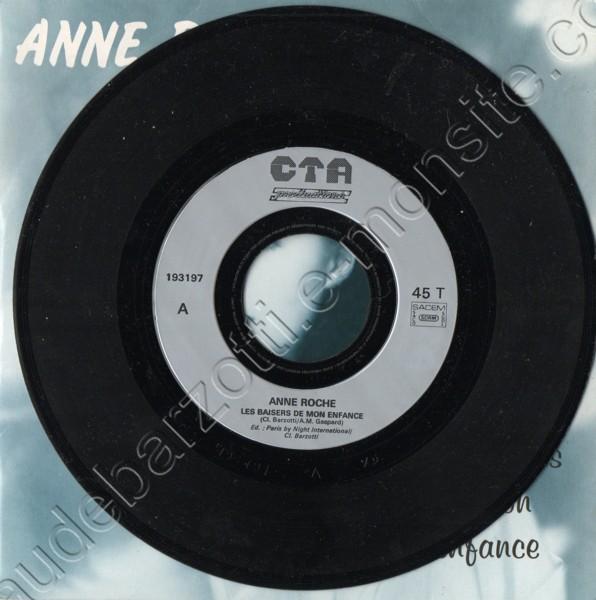 Anne Roche Les baisers de mon enfance