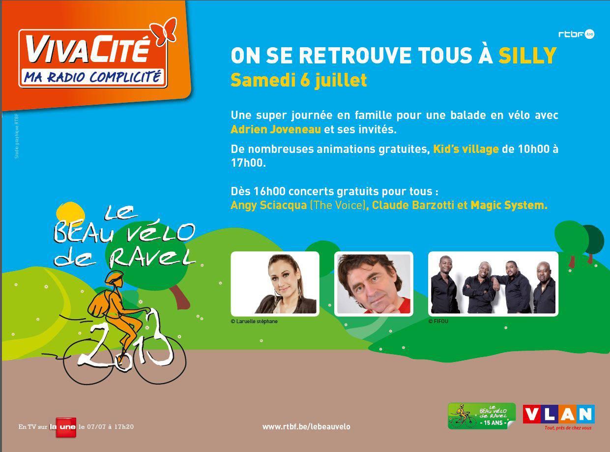 Le beau vélo de Ravel 2013 à Silly (Belgique)
