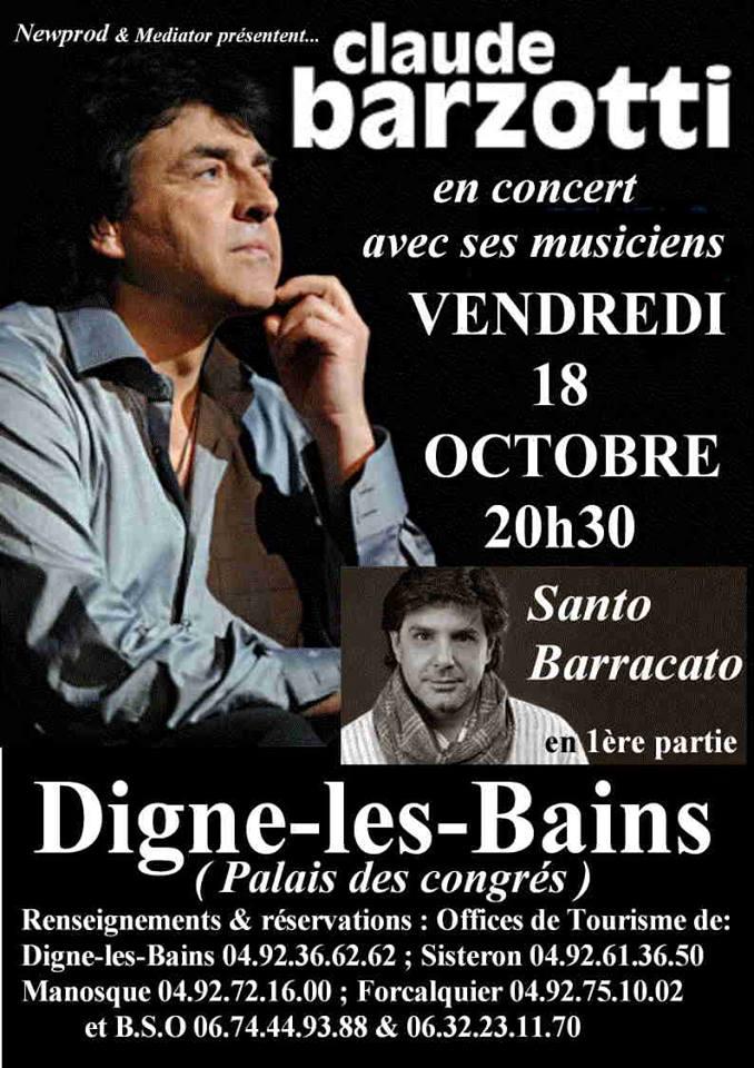 Blog de barzotti83 : Rikounet 83, info concerts Claude Barzotti
