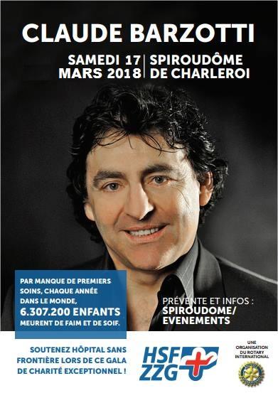 Affiche charleroi 17 mars 2018
