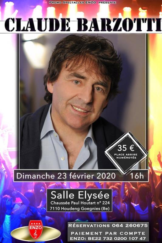Affiche concert enzo 23 fevrier 2020