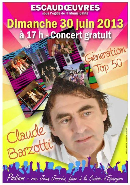 Blog de barzotti83 : Rikounet 83, Poster de Claude Barzotti revue le lundi