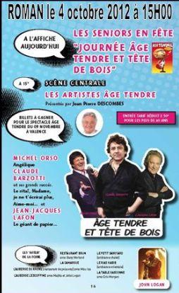 Concert à Roman le 4 octobre 2012 15h