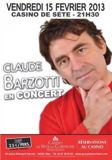 affiche concert à Sète