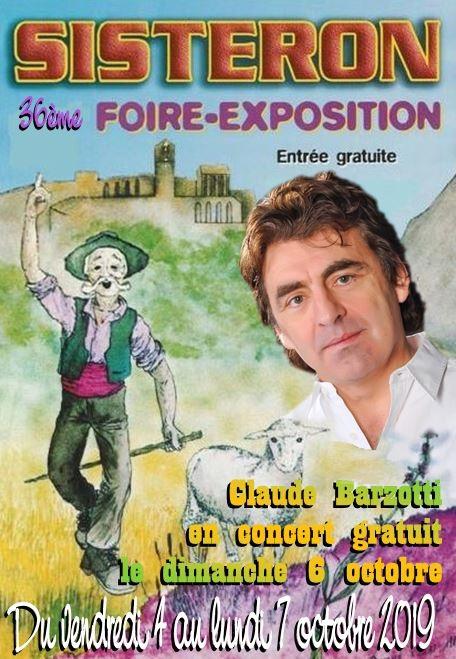 Affiche Foire de Sisteron