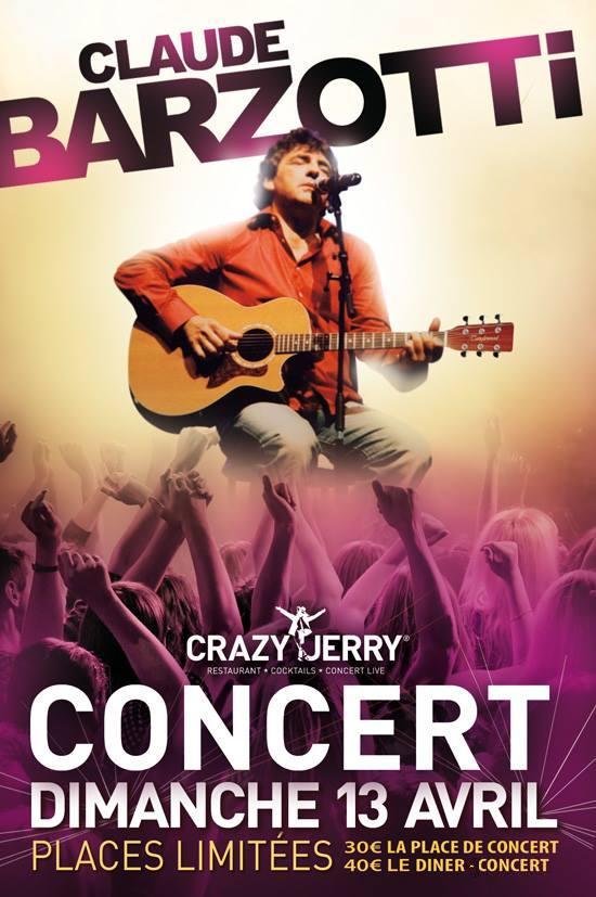 Affiche officielle Crazy Jerry