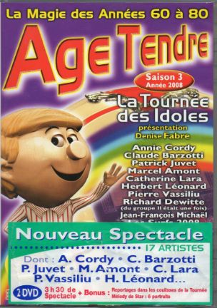 DVD age tendre