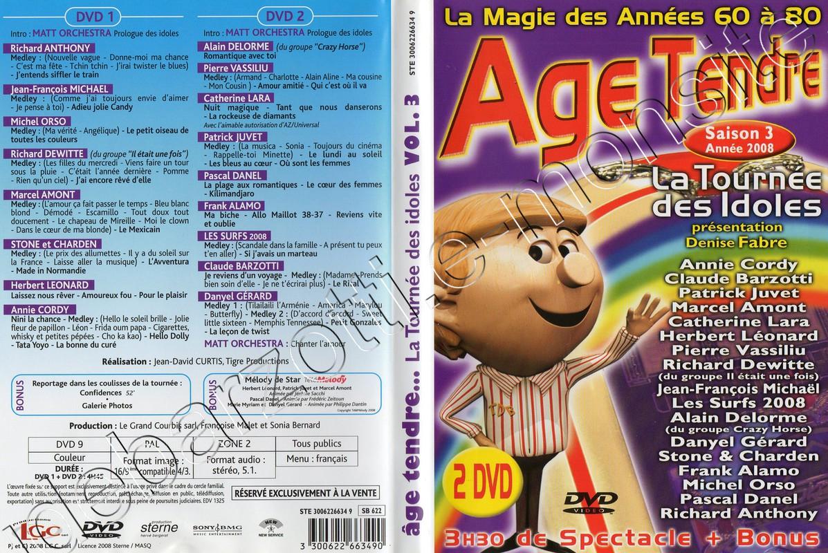 DVD age tendre saison 3 (2008)