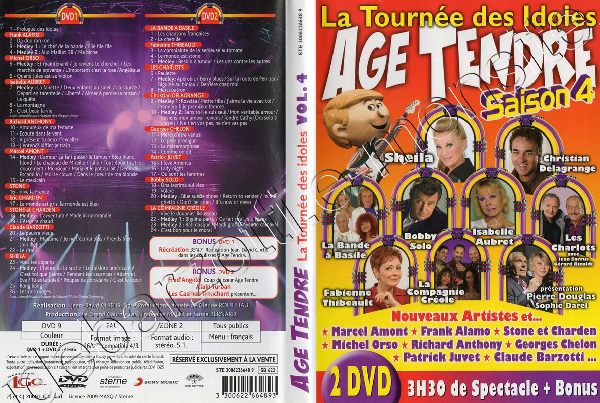 DVD age tendre saison 4 (2009)