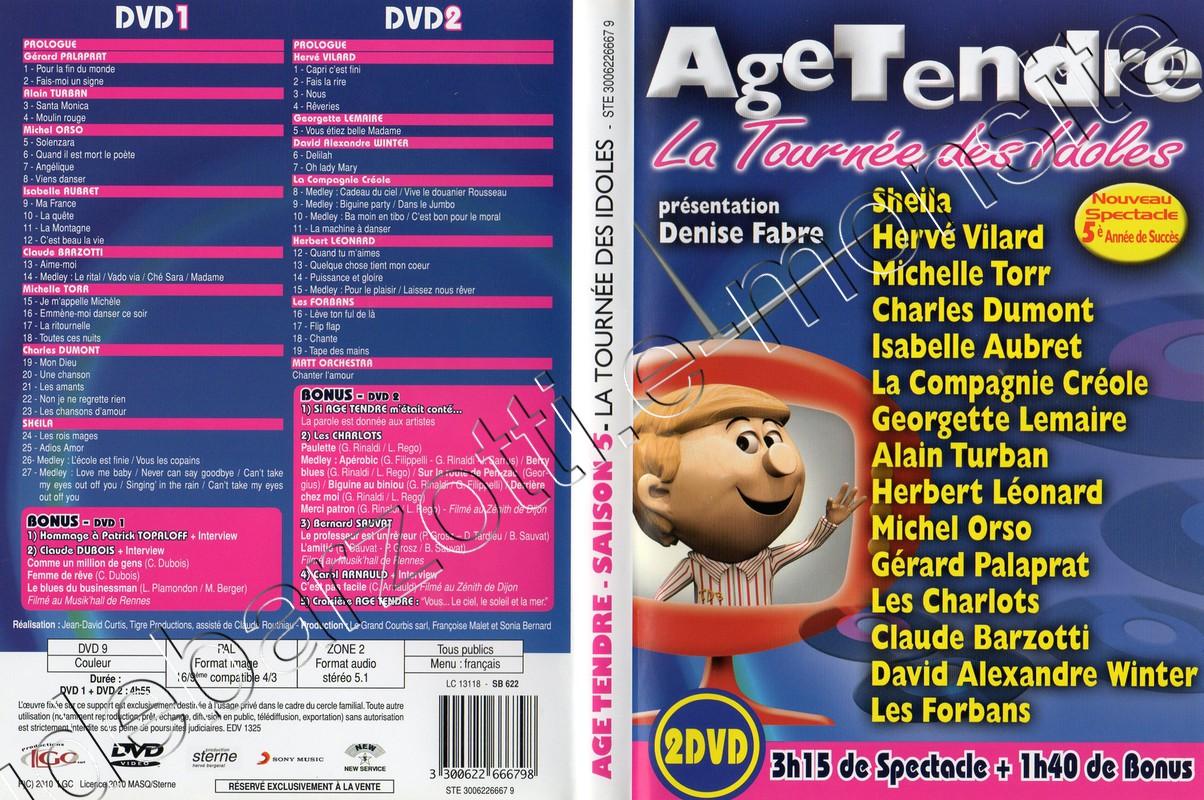 DVD age tendre saison 5 (2010)