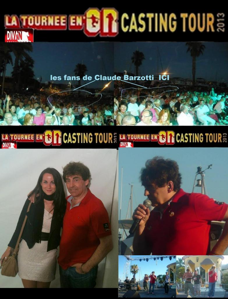 la tournée en or casting tour 2013