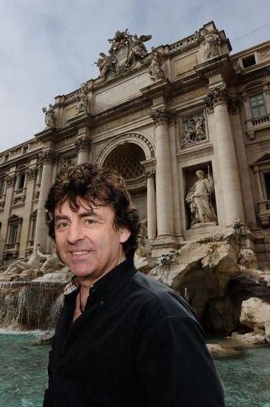 Claude Barzotti à Rome tournée age tendre 2010