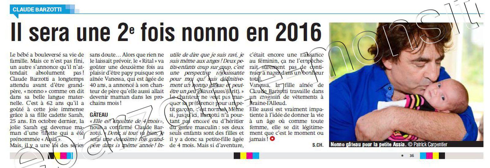 Barzotti 2 fois nono janvier 2016