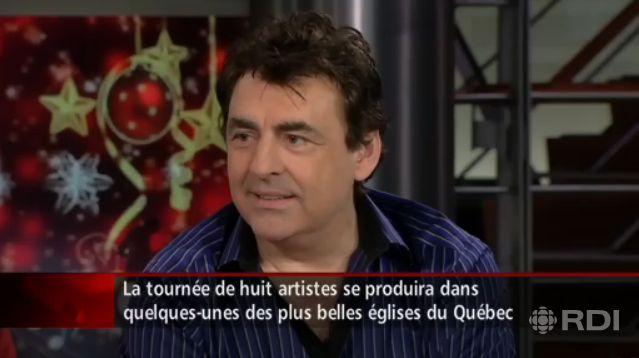 "Claude Barzotti ""les stars chantent Noël au Canada"""