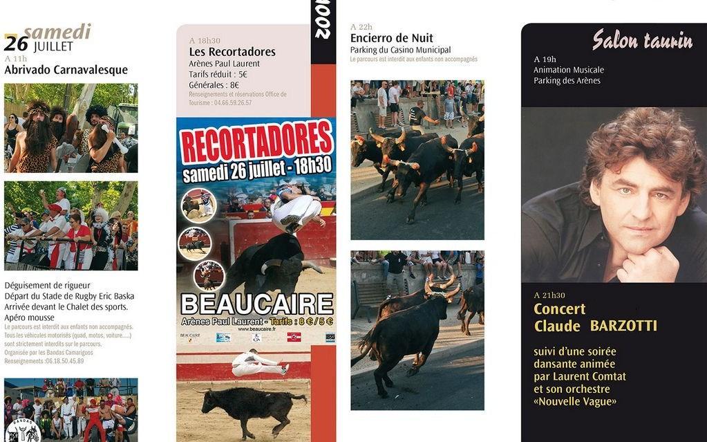 agenda  culturel Beaucaire