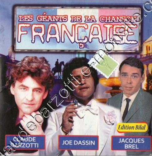 """CD algérie """"les géants de la chanson française"""""""