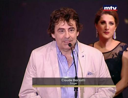 Claude Barzotti Liban BIAF 12 juin 2015