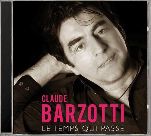 """cd Claude Barzotti """"le temps qui passe"""" lien Amazone ICI"""