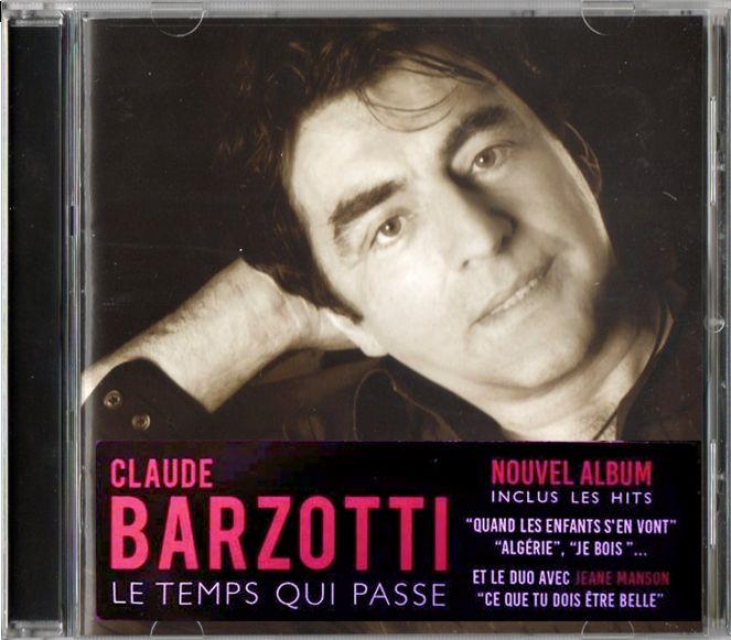 nouveau CD de Claude Barzotti bientôt disponible en téléchargement légal (WeRmusicCompany) 2015