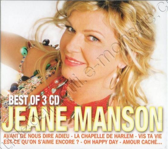 Best Of Jane Manson (titre inédit de D.Gorse et C.Barzotti) janvier 2012