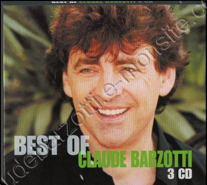 best of 3 CD Claude Barzotti (réédition de 2007) 2009