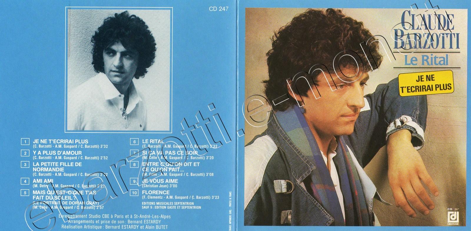 pochette du CD Le Rital Japon