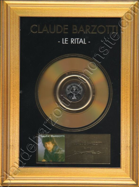 CD album Le rital OR 2006