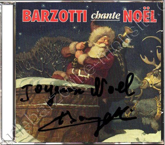 CD Album Claude Barzotti Chante noël Canada 1993
