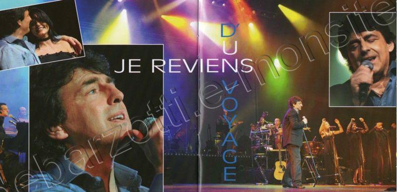 cd album Claude Barzotti Le temps qui passe juin 2015